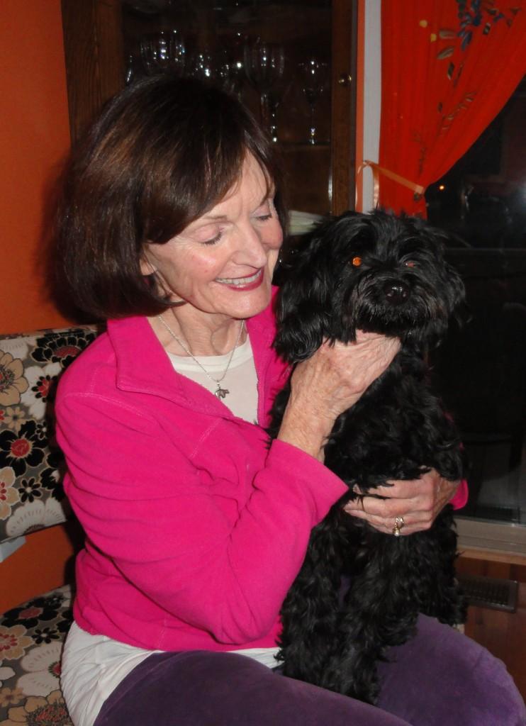 Author Jeanne Charters & Bucky